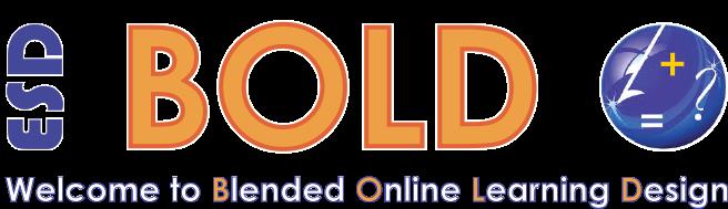 Blended Online Learning, BOLD, logo