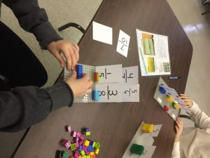 OCS STEAM Math Challenges, Fractions and Lego