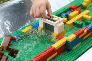 Lego Hydro dam challenge