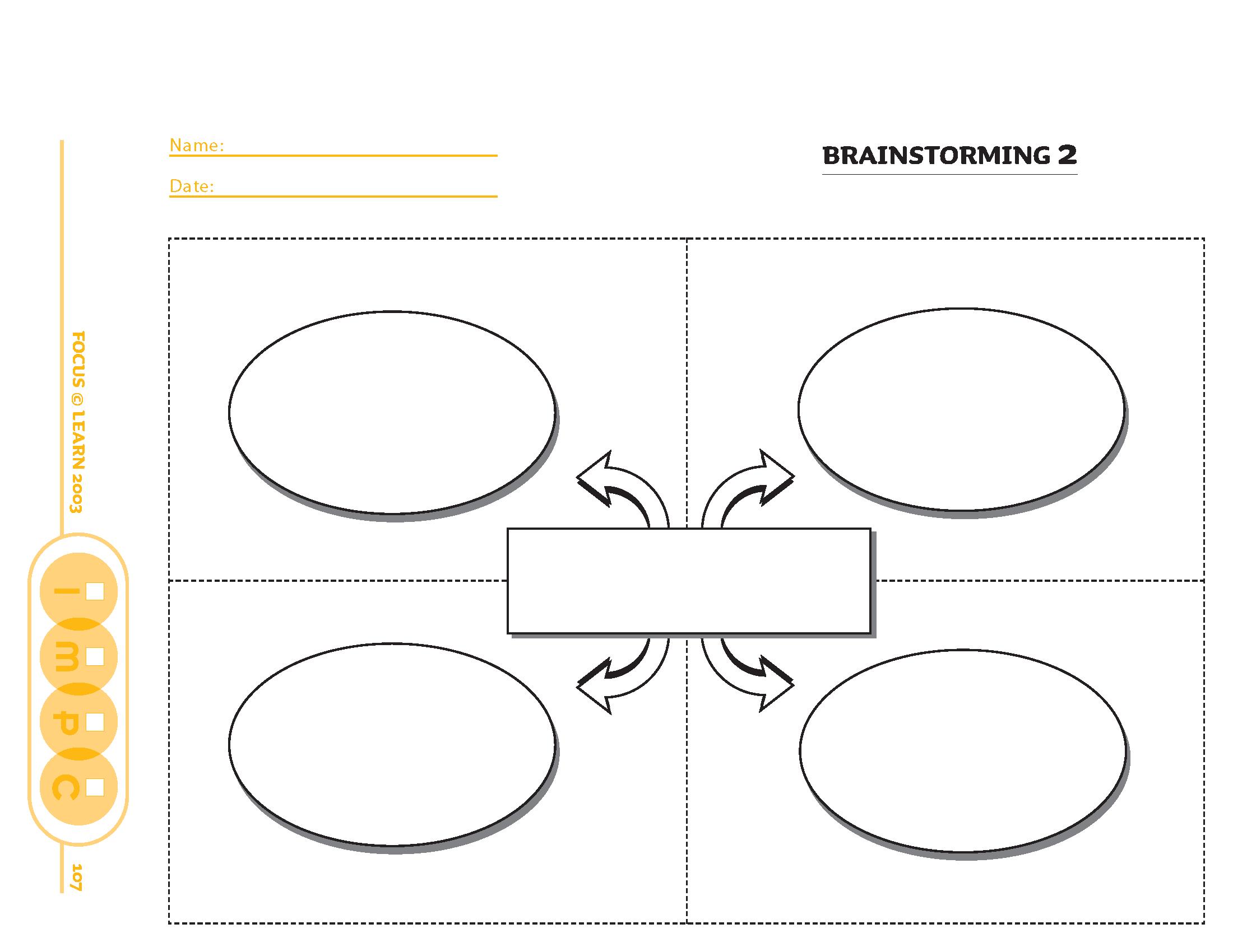 Brainstorming Organizer 2